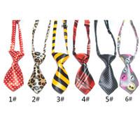 Wholesale pet tie dog ties cravat pet s ties Neck tie sequin dog Bows sequin dog Bows pattern ties