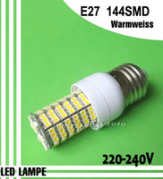 Wholesale New G9 E14 E27 SMD LEDs Candle Spot Light bulb lamp V Warm White