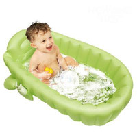 Wholesale Inflatable baby tub large green amp yellow color random