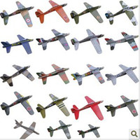 Wholesale 3D Puzzles Paragraph Threw Aircraft Children s Educational Toys Model Aircraft Carrier