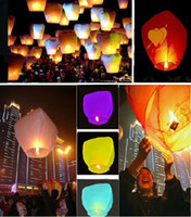 Wholesale Hot Selling Sky Lanterns Wishing Lantern Lotus Lamp Chinese Kongming Lantern Wishing Lamp With Fuel