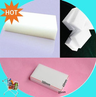 Wholesale Promotion Magic Sponge Eraser Melamine Cleaner multi functional Cleaning x60x20mm