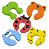 Wholesale 50 Door Stopper Baby Infant Care Protector Pad Cushion Safety Doorstop Door Stop