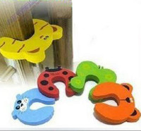 Wholesale 30 Door Stopper Baby Infant Care Protector Pad Cushion Safety Doorstop Door Stop