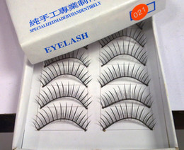Wholesale Thick Soft Long False Eyelashes Eye Lashes special for party boxes Pairs Free