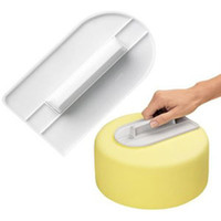 Wholesale Cake Smoother Decorating Polisher Sugarcraft Sharp Edge Kitchen Fondant Tool