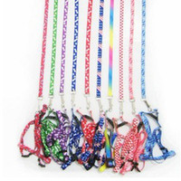 Wholesale polyester pet harness dog cat harness pet leashes chest straps Color random