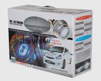 HID Conversion Kit  60 2.8'' G3 Bi-xenon HID Headlight Angel Eyes Projector Lens Kit H1 H7 H4 9005 9006 9004 With Ballasts
