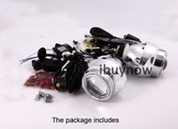 Bulb  60 2.8'' G3 Bi-xenon HID Headlight Angel Eye Projector Lens Kit H1 H7 H4 9005 9006 9004 Without Ballast