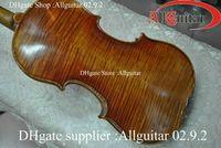 Wholesale Carpathian Spruce Oil Varnish Violin PERNAMBUCO BOW with case