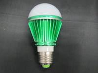 Wholesale E27cool white WLED Light Bulb AC V Lamp led green color