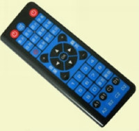 Wholesale 5PCS High Quality HD Player In g Wireless Keyboard Trackball Mouse IR Remote Control IPTV Goo