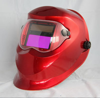 Wholesale Replaceable lithium battery and solar auto darkening grinding weld mask helmet for welder
