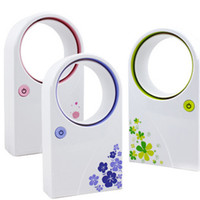 Wholesale New Arrival USB Mini No Leaf Bladeless Air Condition Fan