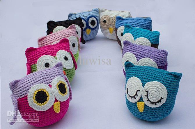 Crochet Toys For Boys : Children s crochet owl doll cute handmade knit