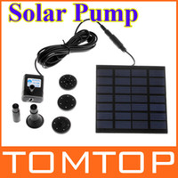 Wholesale Solar Pump For Water Cycle Pond Fountain Rockery Fountain H4009