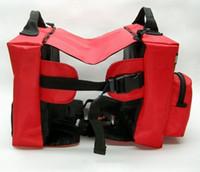 Wholesale Fashion multi functional Dog Red Bag Pet Hiking Carrier dog bag pet backpack dog backpack