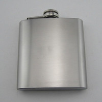 Wholesale Hip Flask Carry Liquor pot Stainless steel OZ LK2217