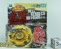 Wholesale Metal Fight BeyBlade Fusion BB Hell Kerbecs BD145DS Metal Fashion beyblade