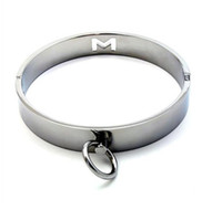 Wrist & Ankle Cuffs ankle magnets - Best price Male High quality plated Steel M Hollow out Collar Restraint with Magnet Locking Pins