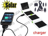 Wholesale 1200mAh Portable Travel Solar Battery Power USB Charger for PDA Cellphone Vb2