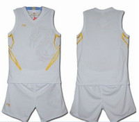 Wholesale can mix pc NEW Made basketball jerseys clothes name and number Stiched