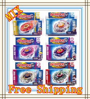 Wholesale 6PCS Hot Sales Beyblade Beyblade spin top toy beyblade metal fusion