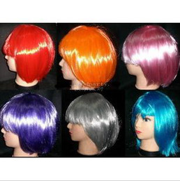 Wholesale An explosion of fancy dress party wig straight hair colors