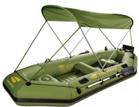 Wholesale inflatable boat sun shade canopy inflatable fishing boat awning shelter free DHL Shipping