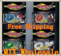 Wholesale BEYBLADE TOP metal top ROCK LEONE STORM PEGRSUS LIGHTNING L DRAGO DARK BULL MOULD MIX