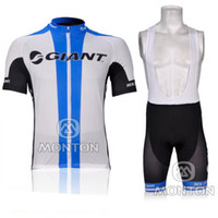 Wholesale 2012 GIANT team Short Sleeve Bicycle Cycling Wear Jersey Bib Shorts set