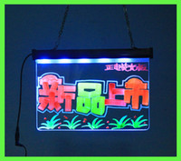 Wholesale LED DISPLAY BOARD T2 cm advertising led tablet led writing board acrylic