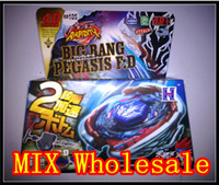 Wholesale Rapidity Beyblade Metal BB D Masters Big Band Pegasis F D Launcher a105