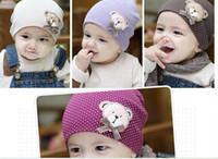 Girl bear hat baby cap infant - new style fashion baby hat baby bear hat baby cap infant hat i