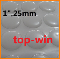 Wholesale 500pcs quot clear epoxy stickers bottle caps kit