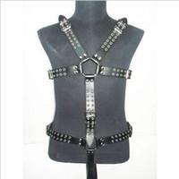 Cheap Restraints Clothing leather body Best Unisex  men body