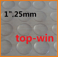 Wholesale 10000pcs clear EPOXY STICKER MM CLEAR BOTTLE CAP ADHESIVE CIRCLES STICKERS