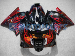 Tank cover red flame fairing kit For Honda CBR600 F2 91 92 93 94 CBR600F2 1991 1992 1993 1994 CBR 600 CBRF2 v1