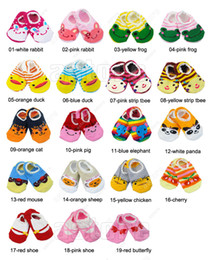Wholesale Hot Sales Unisex Baby Kids Toddler Cotton Anti Slip Socks Shoes Boots Slipper Months fx68
