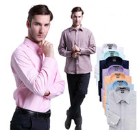 Wholesale Long sleeved shirt men s business casual non iron dress oxford men shirt