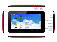 Wholesale 7 inch Via Android Tablet PC Point Capacitive Screen HDMI WiFi Via8850 China Post