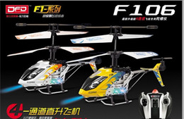 Wholesale 2012 Avatar F106 CH Radio Control Helicopter