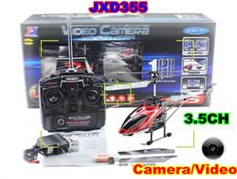 2017 vidéo rc JXD 355 3.5 CH RC Helicopter Gyro & Vidéo de la Caméra de la Télécommande Radio Modèle 36cm RTF vidéo rc promotion