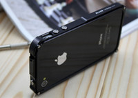 Wholesale 1pcs Newest blade Aluminum Case for iphone g s lement Bumper metal case