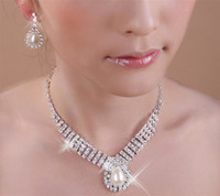 Wholesale Jewelry Sets Fashion Pearl Necklaces Bracelets Earrings Rings Wedding Bridal Jewelry Sets Ornament