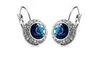 Wholesale New Arrival Full Rhinestone Diamond Earrings Crystal Stud Earrings