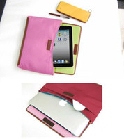 Wholesale Multifunction Computer IP Bag Storage Bags Document Bag Rose red Dark blue Green Wine red