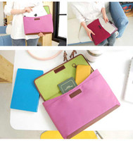 Wholesale EMS FREE ipad Bag Travel Storage Bags Document Bag Organizer Insert Bag in Bag Colors