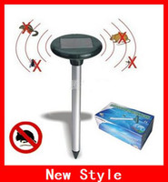 Wholesale Creative Solar Powered Electronic Snake Repellent Solar Snake Repeller Get Rid Of Poisonous Snakes
