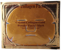 Wholesale Gold Powder Bio Collagen Crystal Facial Mask Face Mask Lady Masks gift for girl friend